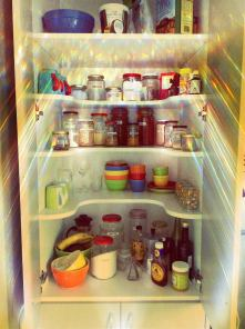 Re-using jars for the pantry